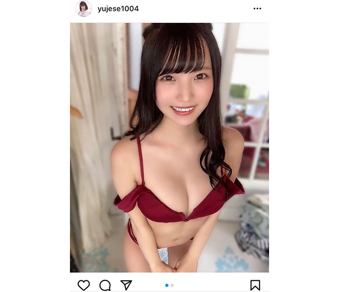 """由良ゆら、ビキニ姿で魅せる""""天使の笑顔""""にキュン!"""