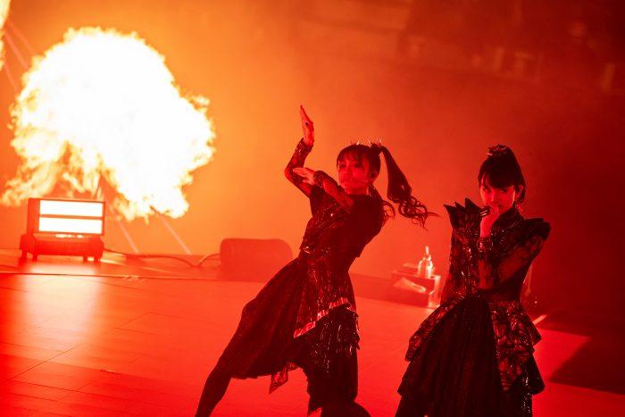 BABYMETAL、今年1月、2月開催の武道館公演の模様をWOWOWで放送決定