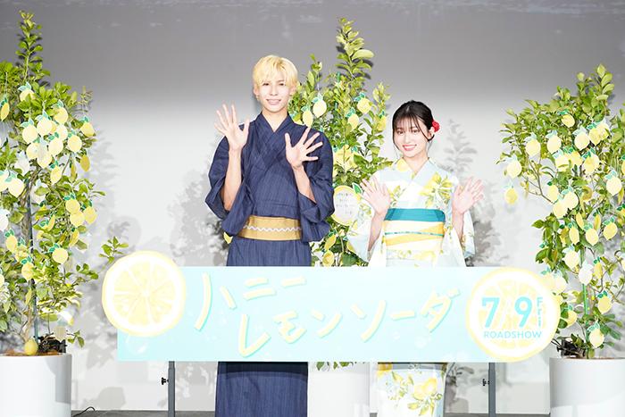 Snow Manラウール・吉川愛が浴衣姿で胸きゅんセリフを⽣お披露⽬!