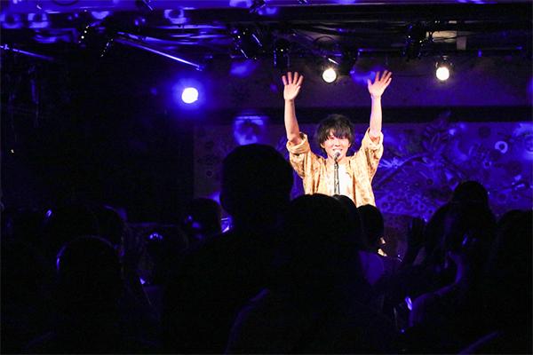 上野大樹、初の東名阪ツアー『閃きーhiramekiー』遂にスタート!さらに生配信が決定!