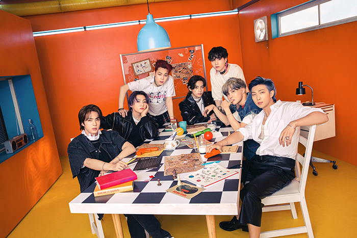 BTS、「Permission to Dance」が日本のオリコンランキングでもストリーミング1位獲得!