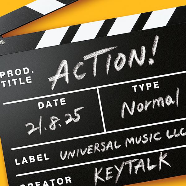 KEYTALK、ニューアルバムのアートワークと収録楽曲情報などを一挙公開!