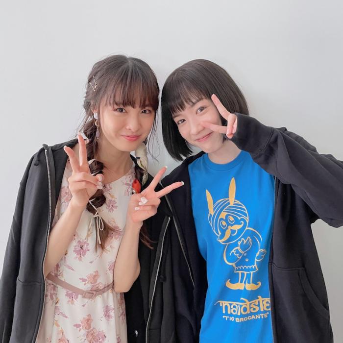 大友花恋、永野芽郁との仲良し2ショット公開「プライベートでも大切な存在」