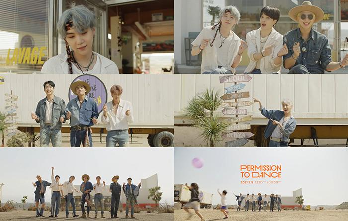 BTS、新曲「Permission to Dance」の MVティザーを公開!