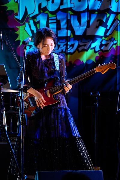 アプガ(2)鍛治島彩が生バンド編成でソロライブ開催