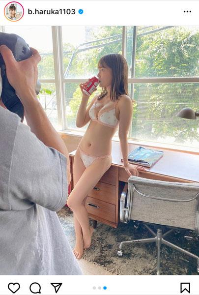 JamsCollection・坂東遥、ヘルシー美ボディにうっとりの全身オフショット披露!