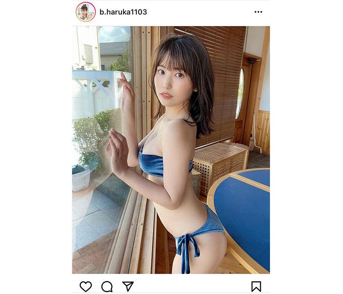 坂東遥、見惚れる大人美ボディでファン悩殺!
