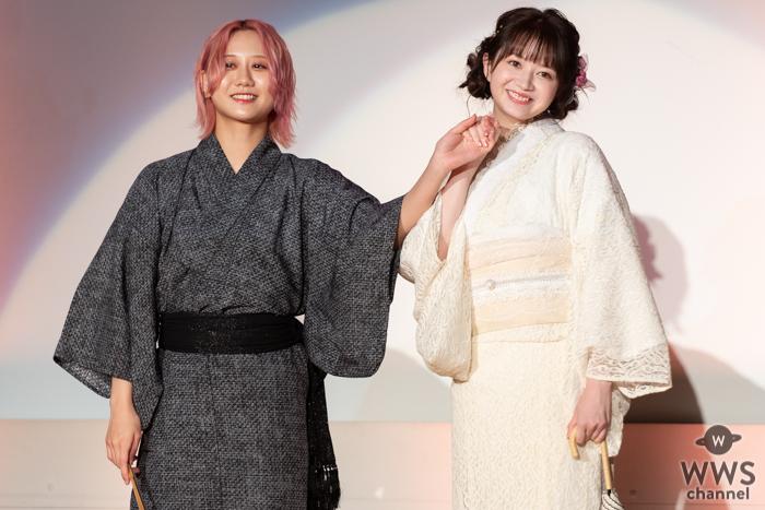 古畑奈和、江籠裕奈らSKE48メンバーが浴衣姿でランウェイを彩る!
