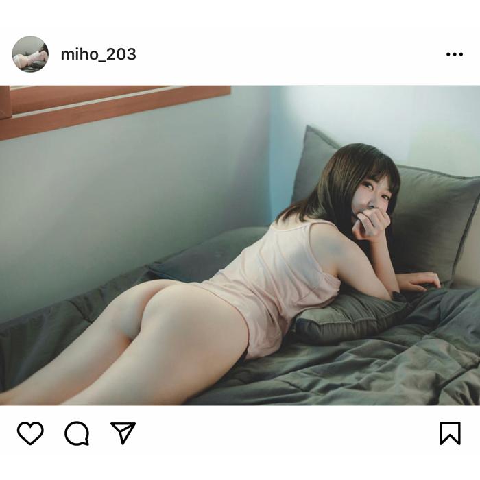 韓国モデル みほ、ヒップ丸出しのグラビアが話題に!露出度が高すぎる。