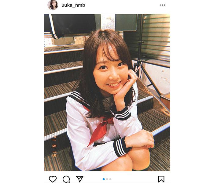 NMB48 加藤夕夏のセーラー服ショットに「可愛い!」と絶賛の声