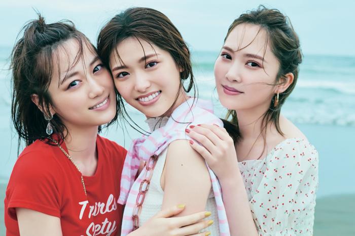 松村沙友理と最後の「坂道三姉妹」撮影に加藤史帆号泣「最後なんて悲しすぎる」