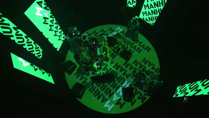 電気グルーヴ、最新の無観客ライブより「MAN HUMAN」ライブ映像が公開