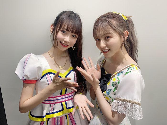 AKB48 大盛真歩、憧れのニジマス 吉井美優と2ショット「可愛いが渋滞してる」と話題に