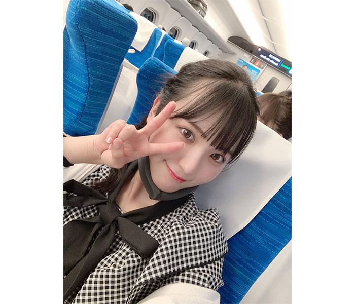 【念願叶う】SKE48 末永桜花、憧れのN700Sについに初乗車!「嬉しすぎて!!!びっくりした!!」