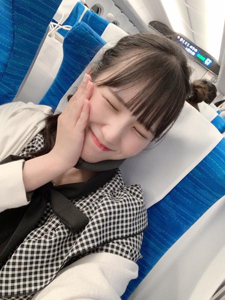 【念願叶う】SKE48 末永桜花、憧れのN700Sについに乗車!「嬉しすぎて!!!びっくりした!!」