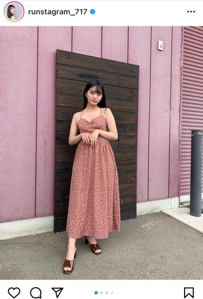 豊田ルナの夏ドレスコーデに反響ぞくぞく!
