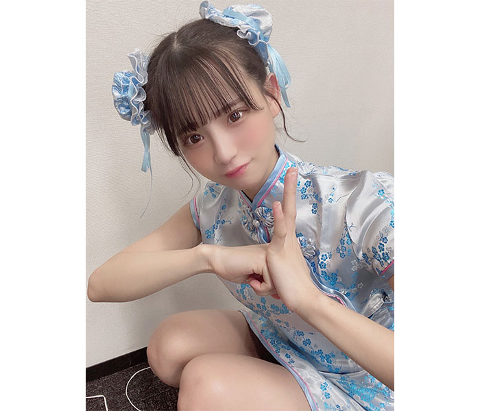 NMB48 和田海佑、可愛すぎるチャイナドレス姿披露!「春麗の実写版いけるで」