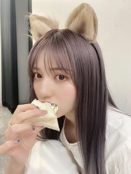 ニジマス 吉井美優、破壊力抜群のケモミミオフショットが可愛すぎる!