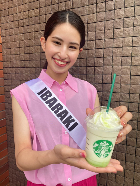 ミスユニバーシティ2021ファイナリストがスターバックス「47 JIMOTO Frappuccino」を飲み比べ