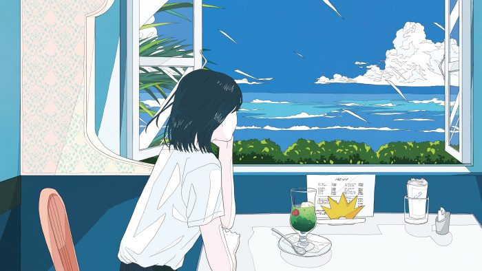 吉岡聖恵ソロ曲『夏色のおもいで』、メッセージ入り暑中見舞いポストカードの絵柄が公開