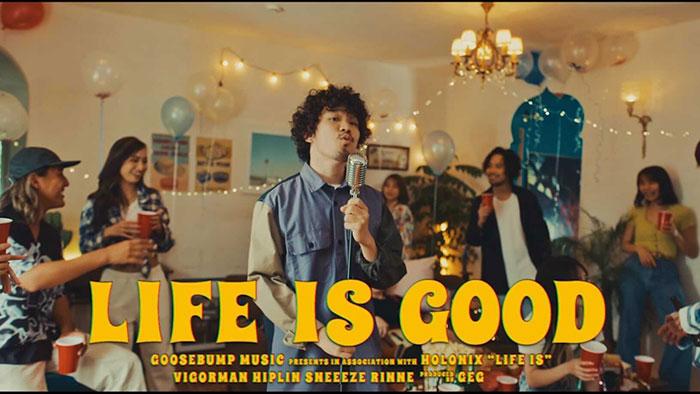 GeG (変態紳士クラブ) が仕掛ける新曲「LIFE IS GOOD」と世間が重なる。 無限大のマイクリレーが一大ムーブメントを巻き起こす!!