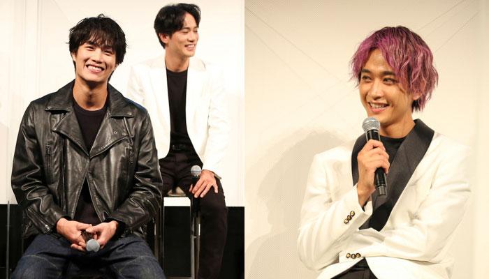 【ソロ写真】劇団EXILE・鈴木伸之、佐藤寛太ら笑顔でJAMプロジェクトへ意気込み語る!