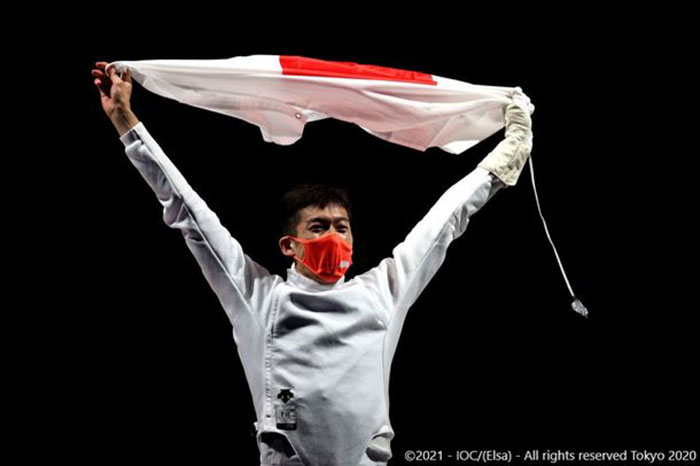 Technogymアンバサダーを務めるフェンシング見延和靖選手が金メダル獲得<東京2020オリンピック>