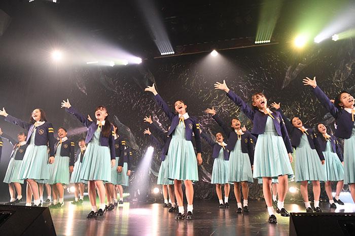 【ライブレポート】少女歌劇団ミモザーヌ、初の東京公演を総勢27名で本気のパフォーマンス!