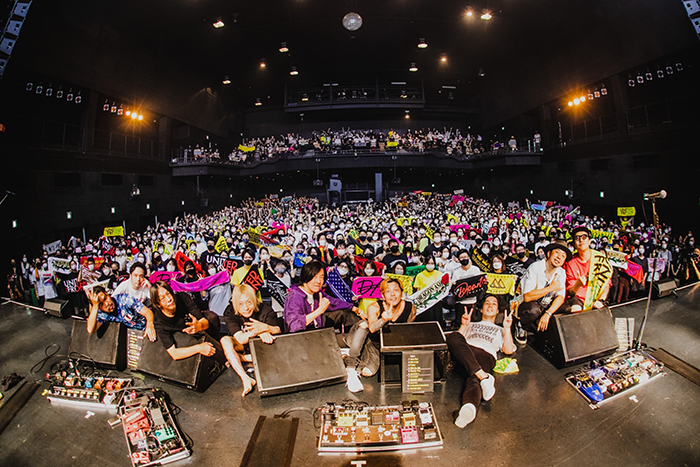Dragon Ash主宰の対バンツアー開催!ストレイテナーを迎えた東京公演で観客に感謝
