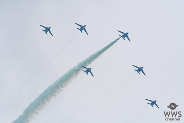ブルーインパルス、「東京パラリンピック」開会式当日に都内上空を展示飛行