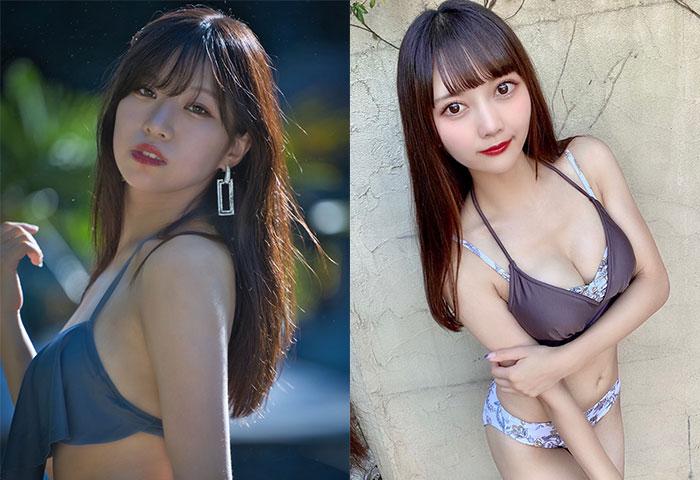 dela 今田希&藤本南が「近代麻雀水着祭」に出演!