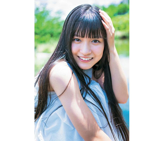 SKE48 林美澪、王道直球のソログラビアで「B.L.T.」初登場