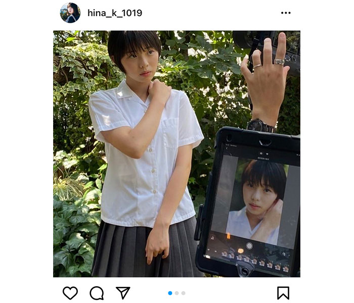 菊地姫奈がボーイッシュにイメチェン!「ショートカットになりました〜」