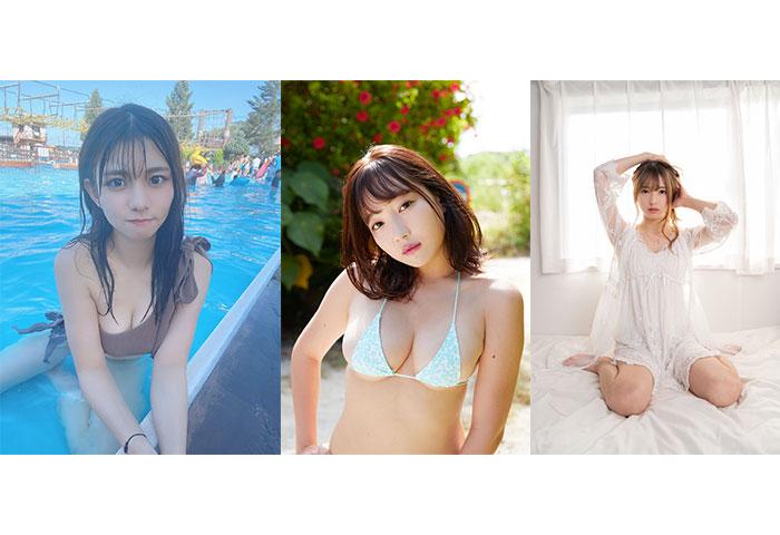 京佳、本田夕歩、月野ももが9/4に登場!「近代麻雀水着祭」総勢140人が屋外プールに大集結