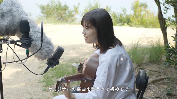 乃木坂46 掛橋沙耶香が故郷の岡山で弾き語りに挑戦