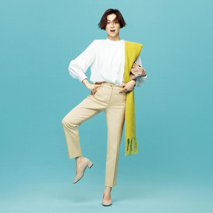 中村アンが新パンツコレクション「PLUS STYLE(プラススタイル)」ブランドアンバサダーに就任