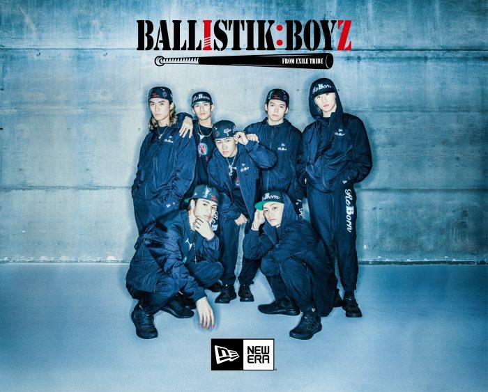 BALLISTIK BOYZ、New Eraとコラボしたコレクションをリリース