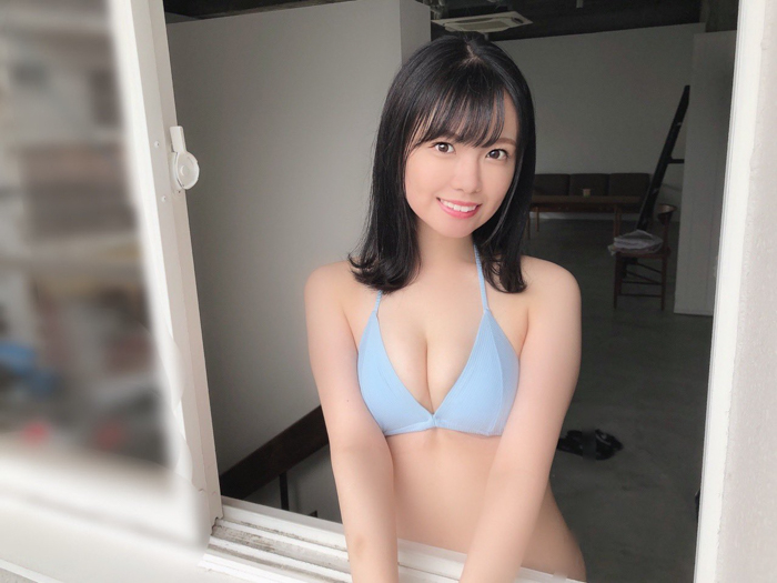 SKE48 岡本彩夏「とっってもドキドキでした」、待望のソロ水着に反響ぞくぞく