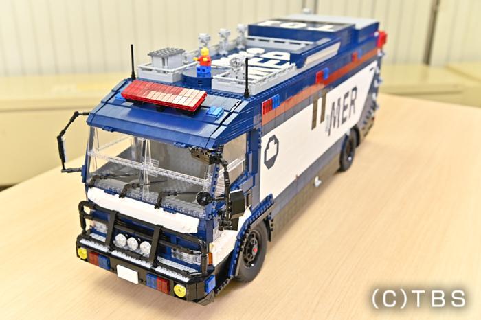 『TOKYO MER』ERカーを東大LEGO部が完全再現