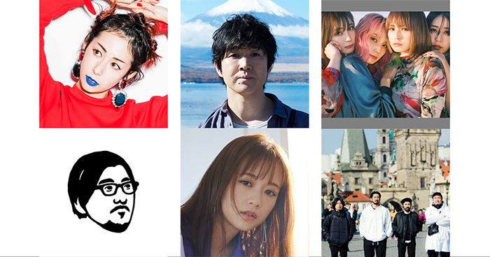 木村カエラ、藤巻亮太、SCANDAL、冨田ラボ、大原櫻子、SPECIAL OTHERS ACOUSTIC、描き下ろし楽曲独占オンエア