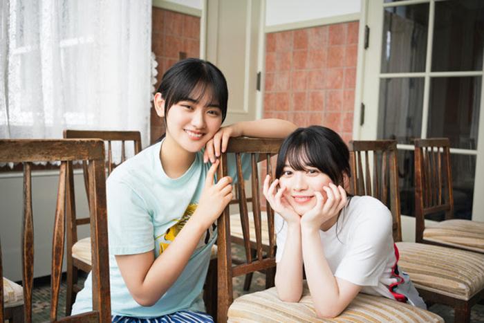 櫻坂46・森田ひかる&山崎天が「B.L.T.11月号」表紙に登場