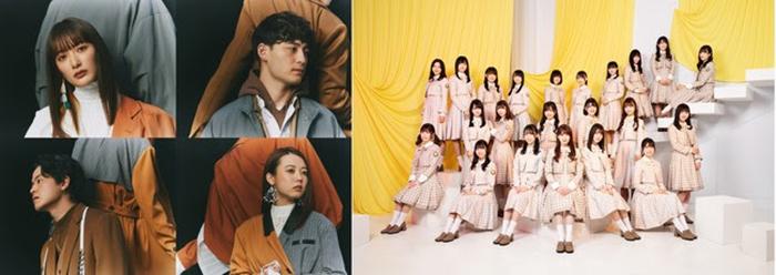 「MTV LIVE MATCH」で緑黄色社会と齋藤京子(日向坂46)のコラボステージが決定