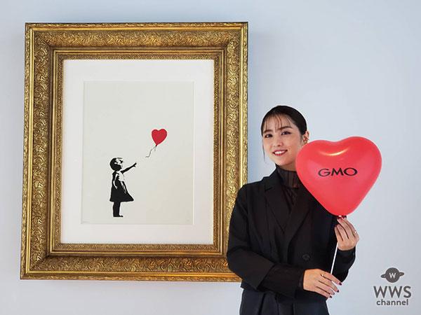 石川恋が世界一小さな美術館@GMOデジタル・ハチ公に登場!バンクシー作品への思いを語る!