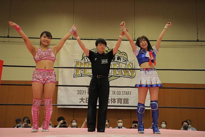 SKE48 荒井優希、1ヶ月ぶりの復帰戦で勝利