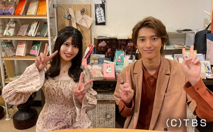 AKB48 行天優莉奈と木原瑠生がデート企画で新韓流スポットを紹介