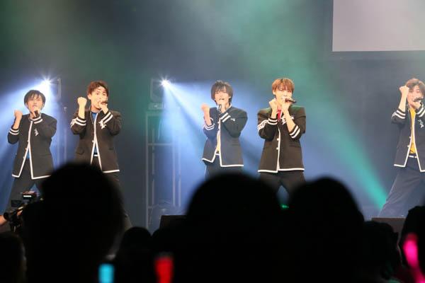 ボイメンエリア研究生、Zepp Nagoyaで初ライブ開催! 新曲のサプライズ披露も