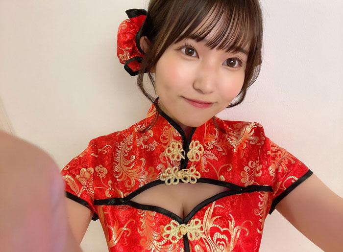 JamsCollection 坂東遥、チャイナドレス姿で明かすフェチとは?
