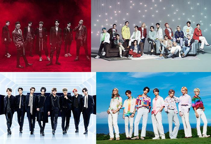Jr.EXILE 4組によるEXILEトリビュートシングル先行配信&MV公開の日程が決定