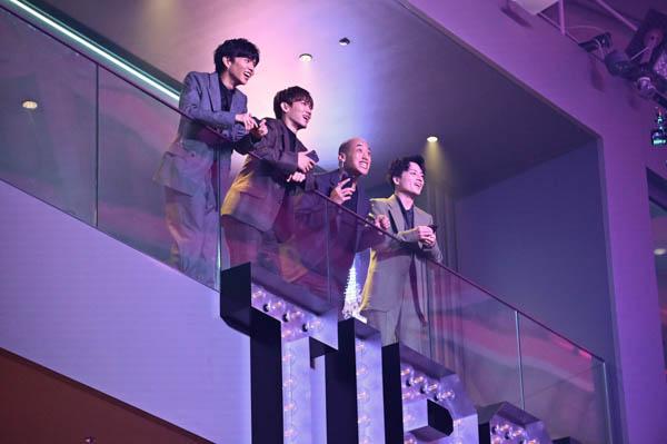 EXILE NAOTO、白濱亜嵐、関口メンディー、佐藤大樹が競輪アプリCMに出演