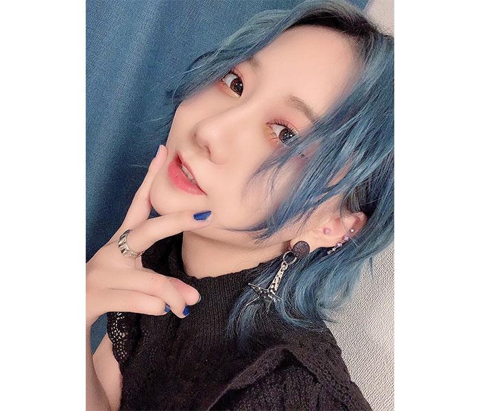 SKE48 古畑奈和、青髪に染めたニュースタイルにファン大絶賛